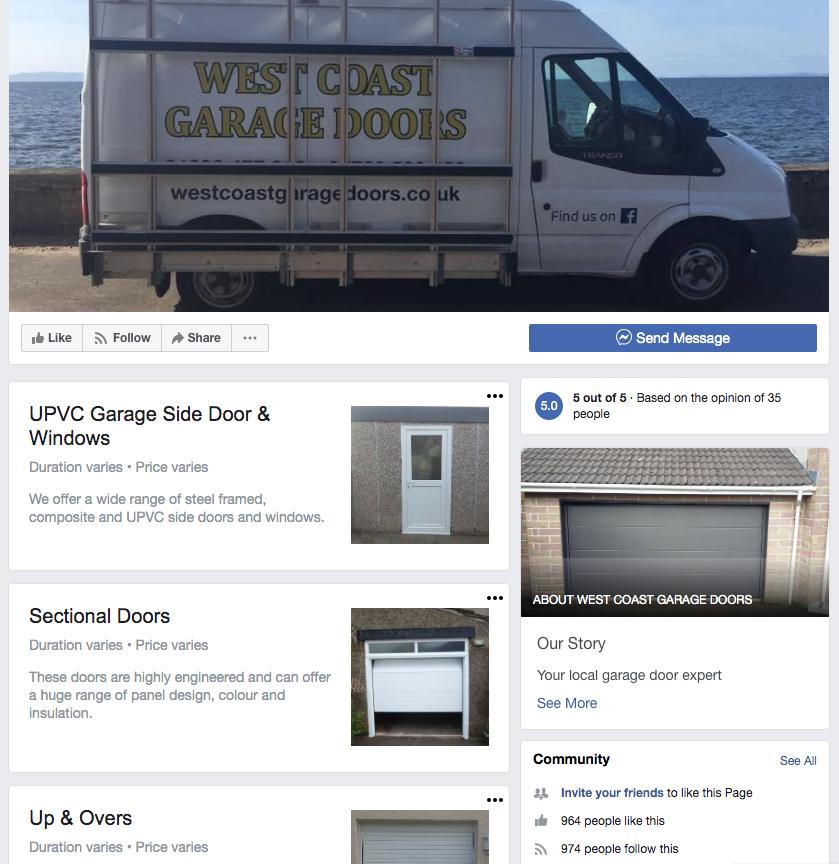 Facebook feed link