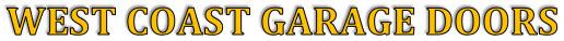 West Coast Garage Doors Logo